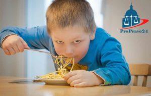 Питание в школе малоимущих