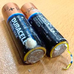 батарейки надлежащего качества